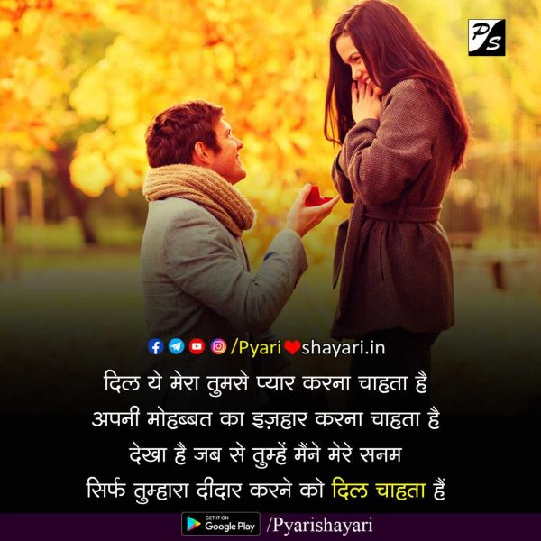 happy propose day shayari in hindi