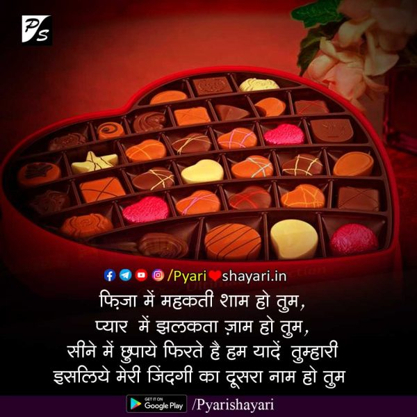 happy chocolate day images hindi