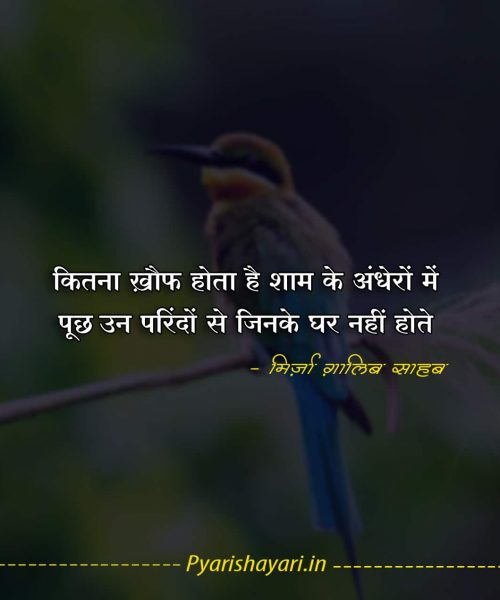ghalib shayari on love in hindi
